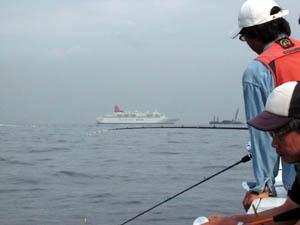 釣り船からのおが丸