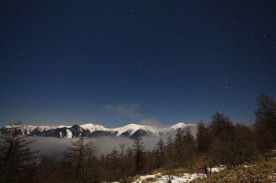 夜叉神峠から鳳凰三山