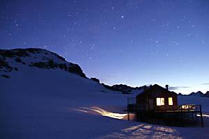 NZの山小屋